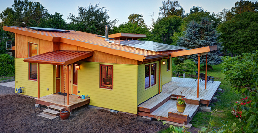 Six degrees construction conventional timber framed for Eugene oregon home builders